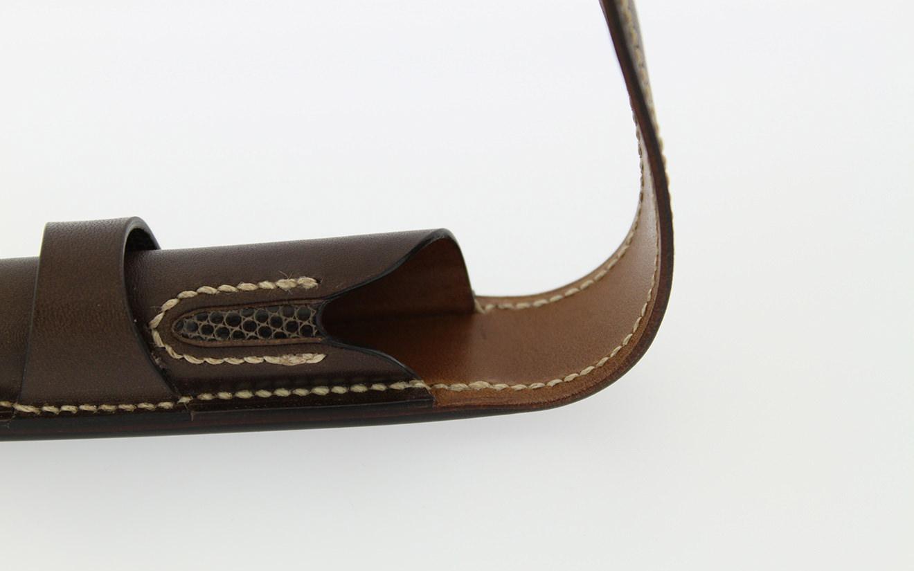 Pencase Grimaldi2N Dark brown-2
